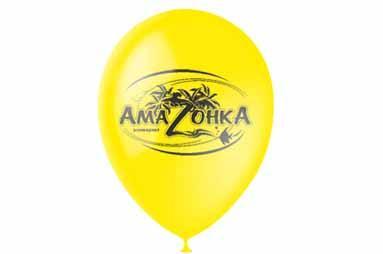 Печать на воздушных шарах